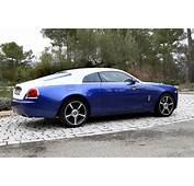 Essai Vid&233o  Rolls Royce Wraith Whisky Cigars And