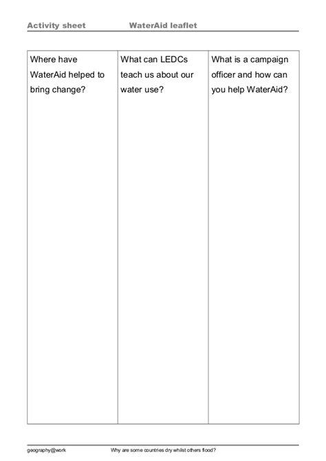 Outline Of A Leaflet