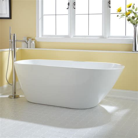 freestanding acrylic bathtubs 71 quot gaston acrylic freestanding tub bathroom