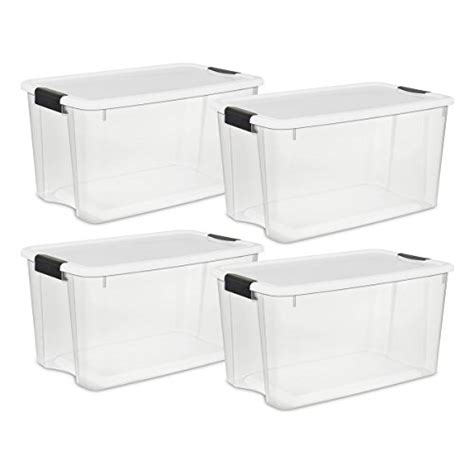 Box Makanan Container Makanan Ultra Pack sterilite 19889804 70 quart 66 liter ultra latch box