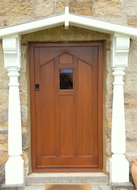 Bespoke Front Doors Exle Installations Of Timber Windows Timber Doors And Timber Conservatories