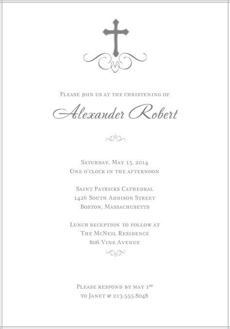 free christening invitation cards templates baptism invitations templates free