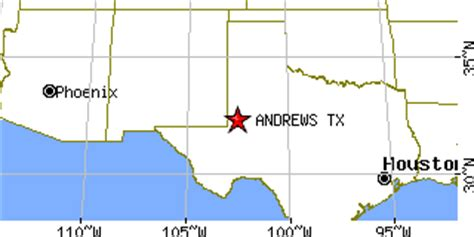 andrew texas map texas tx population data races housing economy