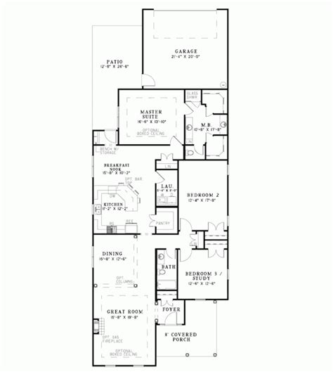 houses for narrow lots home plan narrow lot 4 bedroom house plans small lot