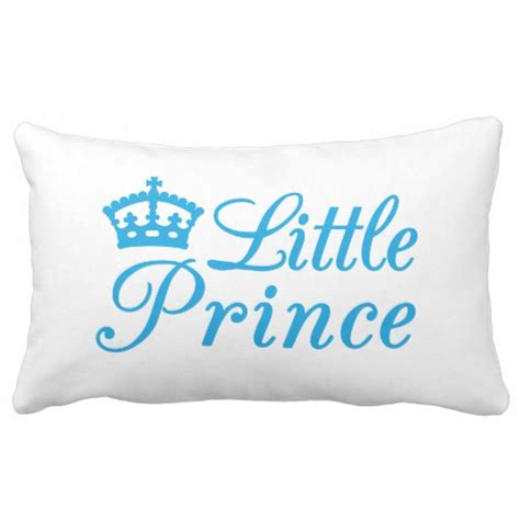 pillow design prince with blue crown zazzle