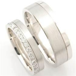 platinum matching pair wedding rings form bespoke