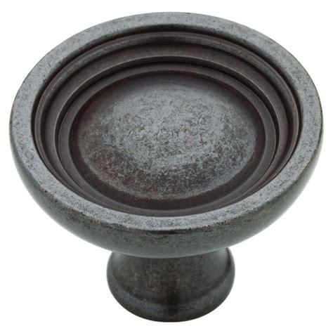 martha stewart living knobs martha stewart living 1 1 2 in soft iron bowl
