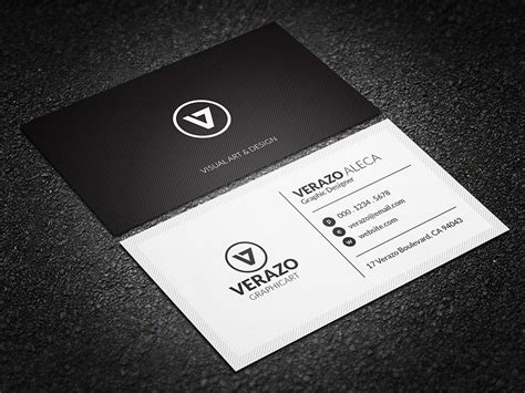 card template black and white minimal black white business card business card