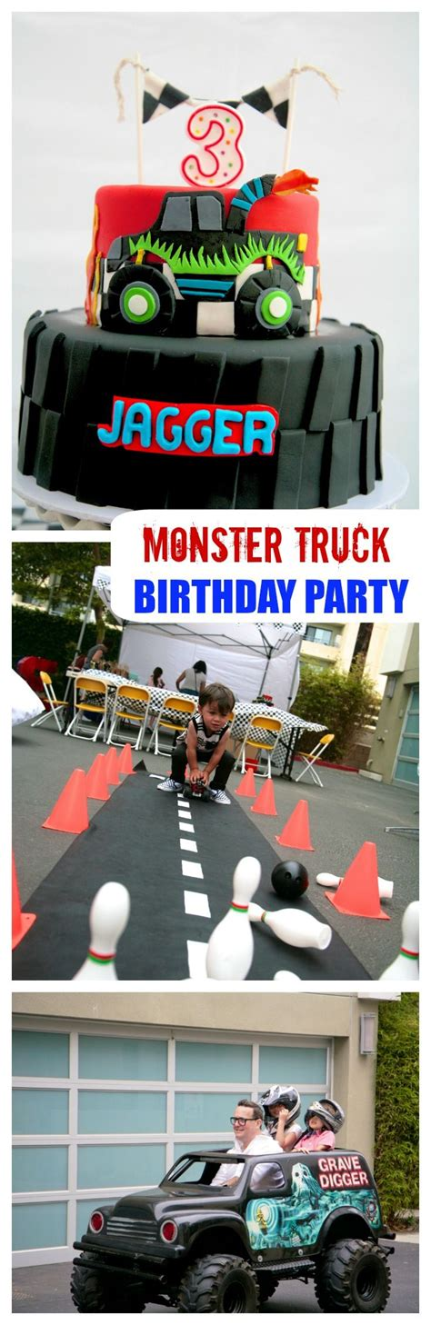 list of all monster jam trucks monster truck party this boy birthday party is