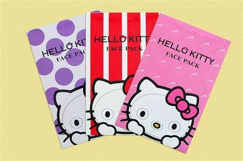 Sanrio Japan Narikiri Hello Blue Mask meets with the hello narikiri pack japan trends