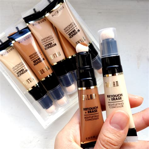 Millani Retouch Erase Light Lifting Concealer hit or miss gt gt milani retouch erase light lifting concealer swatchingirl