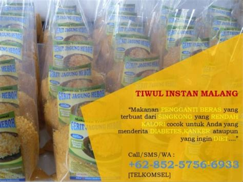Jual Makanan Instan by 62 852 5756 6933 Tsel Jual Tiwul Instan Usaha Tiwul