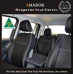 Waterproof Seat Covers For Trucks Volkswagon Vw Amarok Front And Rear Premium Waterproof
