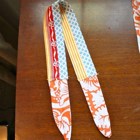 fabric headbands pattern diy reversible fabric tie headband sewing pinterest
