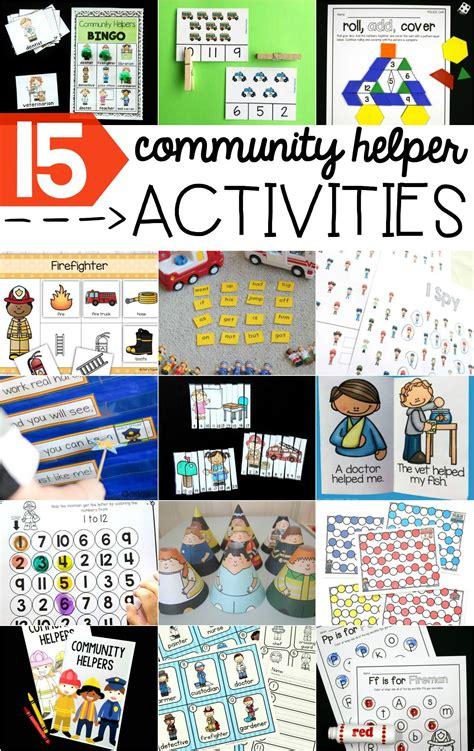 Community Helpers Printables