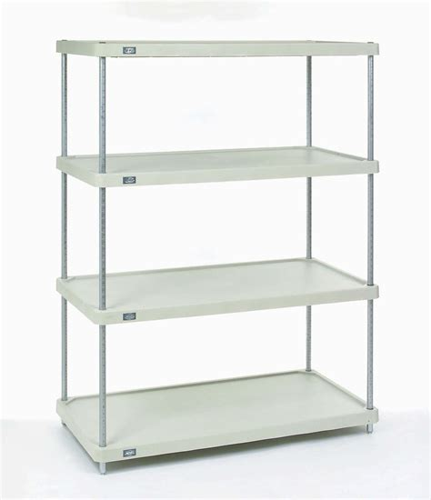 Shelf Plastic by Metro Metromax Polymer Shelving Units Nexel Plastic Shelving