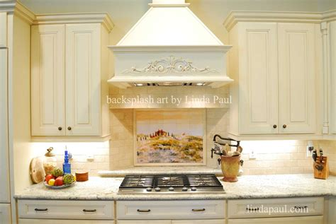 italian backsplashes for kitchens tuscan tile murals kitchen backsplashes tuscany tiles