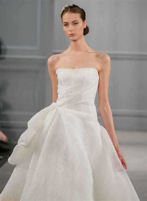 monique lhuillier bridal 2014 spring 2014 wedding dress monique lhuillier bridal paris