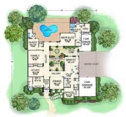 Interesting Floor Plans Interesting Floor Plan With Courtyard Ikea Decora