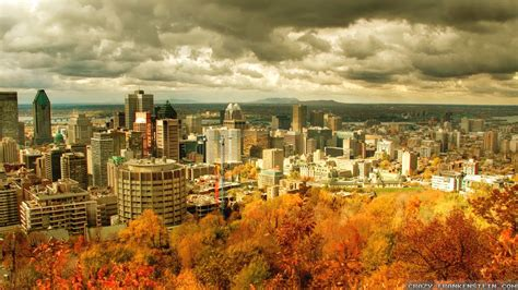 Cityscape Wallpaper by Autumn In Canada Wallpapers Seasonal Crazy Frankenstein