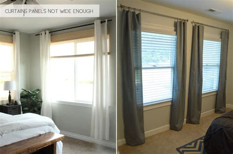 how low should curtains hang hanging curtains all wrong emily henderson