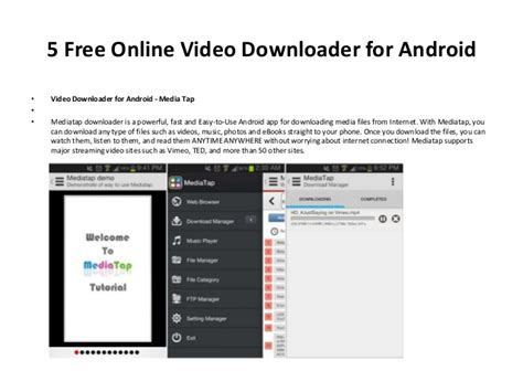 free downloaders for android 5 free downloader for android phone and tablet