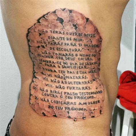 10 commandments tattoo the 10 commandments by cl 233 bio design