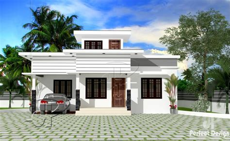 1220 square feet contemporary low budget home design 904 square feet 2 bedroom single floor low budget home