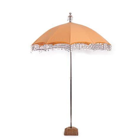 Raj Apricot Umbrella Parasol   Decorative wedding