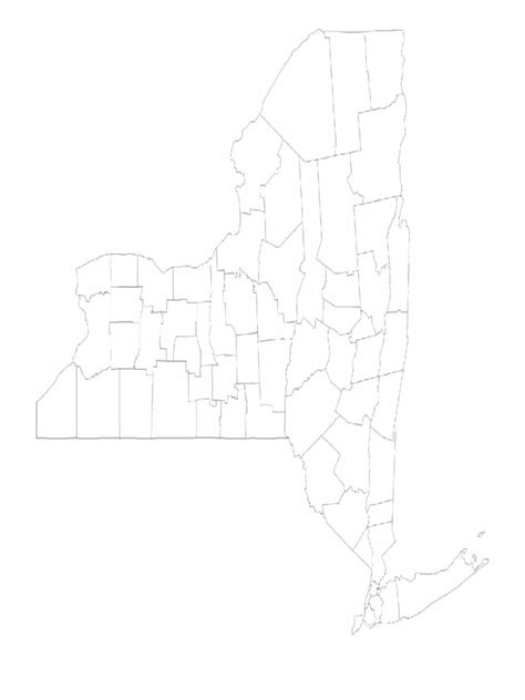 new york county free map free blank map free outline new york map template 8 free templates in pdf word