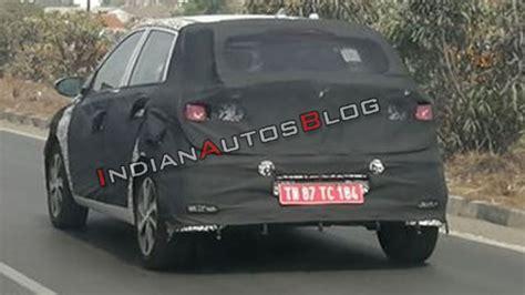Hyundai Elite I20 2020 by 2020 Hyundai Elite I20 Spied Testing In India For The