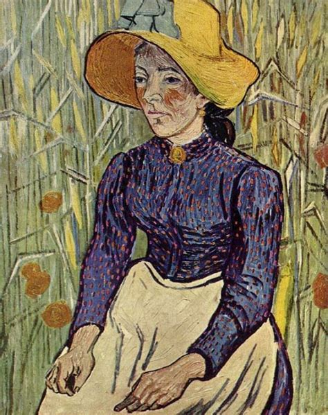 peasant against a background of wheat peasant against a background of wheat 1890 by