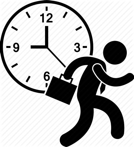 Buy Clock by Busy Clock Employee Hectic Lifestyle Nine To Five