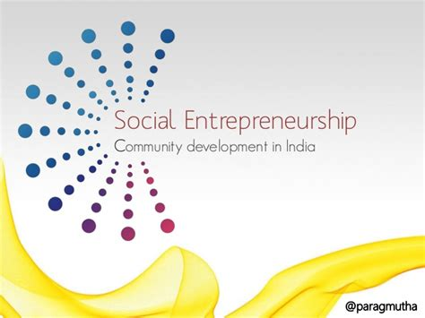 Social Entrepreneurship Mba In India by Why Social Entrepreneurship
