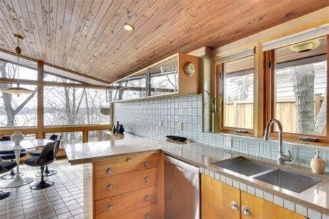 midcentury masterpiece  time capsule tile house
