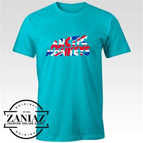 buy custom tshirt arctic monkeys uk flag cheap clothes
