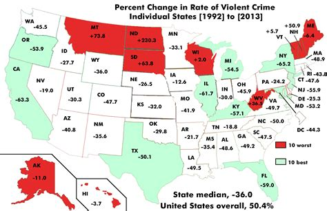 crime tracker the shift in violent crime rates it s harder not to