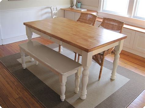 Here is a picture of the norfolk dining table and bench found at