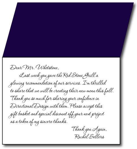 Heartfelt Thank You Note To thank you card letter letters font