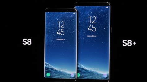 Samsung S8 Plus S8 Plus samsung proudly shows the galaxy s8 and s8 plus