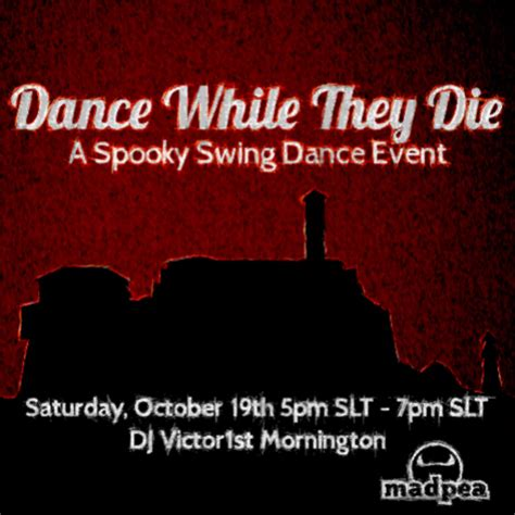 swing event dance while they die a spooky swing dance event