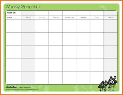 search results for family daily schedule template