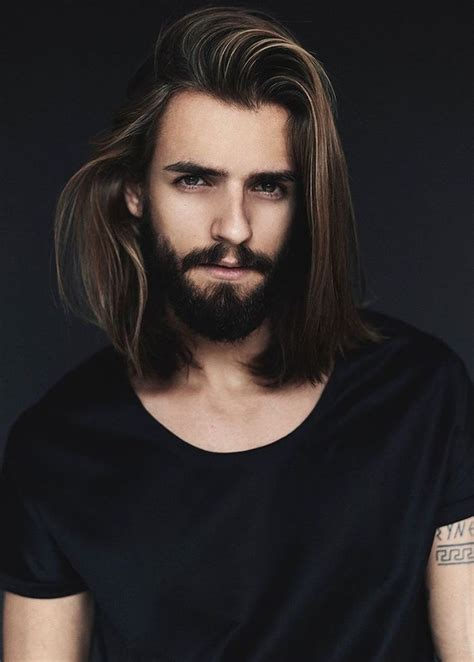 male models with long straight hair 1001 id 233 es cheveux longs homme quand la taille compte