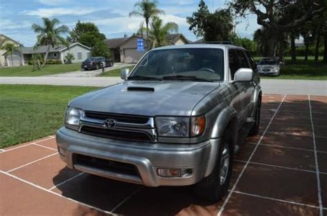 sell used 2001 toyota 4runner trd supercharged very rare in mogadore ohio united states for