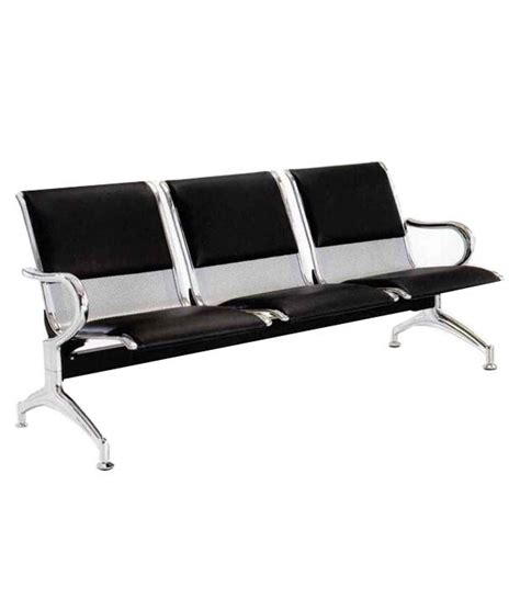 3 seater bench cushion 3 seater visitor bench with half cushion buy 3 seater