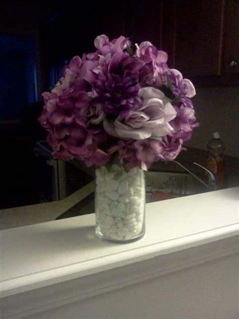 Diy Purple Wedding Centerpieces Purple And Silver Wedding Centerpiece Ideas