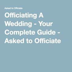 officiating a wedding ideas 1000 ideas about wedding officiant on