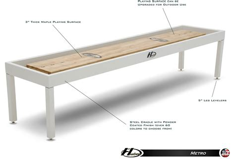 metro indoor outdoor shuffleboard table