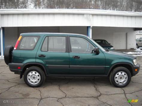 2000 Honda Cr V 2000 Clover Green Pearl Honda Cr V Lx 4wd 26210189