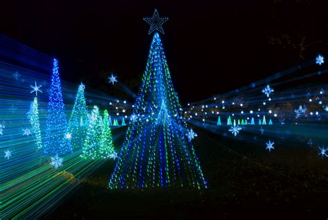 christmas illumination or christmas light home illumination light show